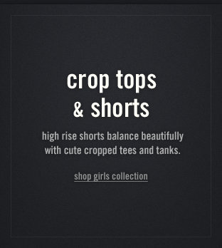 Shop the abercrombie kids crop tops & shorts collection!