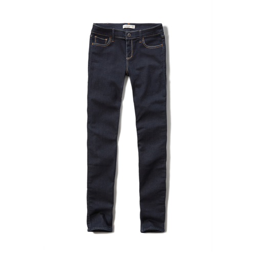 featured items a&f brenna super skinny jeans