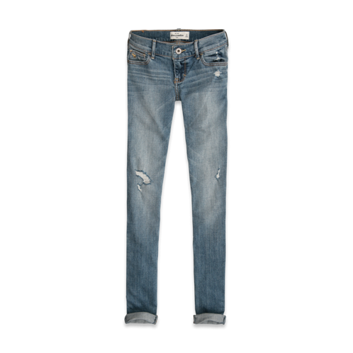 DELETE your new favorite jeans a&f super skinny  jeans