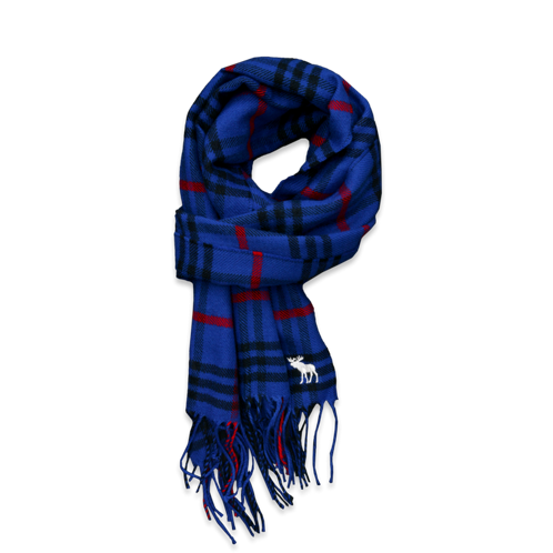 accessories colorful plaid scarf