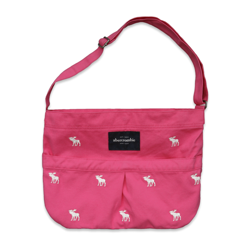 girls embroidered tote