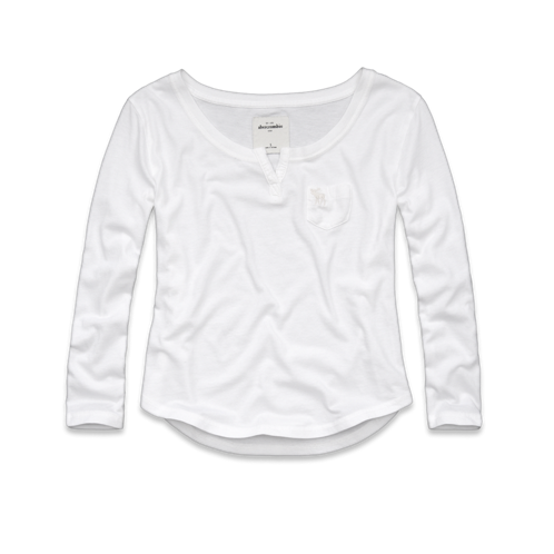 long sleeve audrey tee