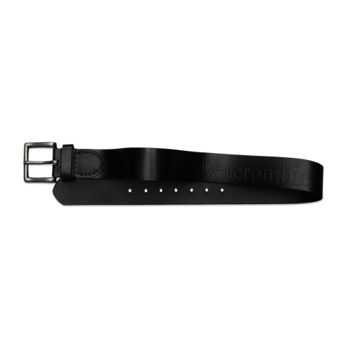guys rugged leather belt