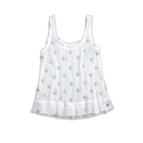 girls hallie shine tank