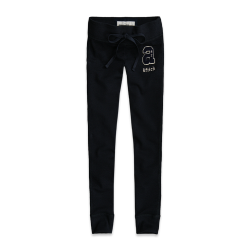 sweatpants a&f super skinny sweatpants