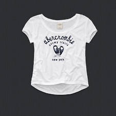 girls valerie shine tee