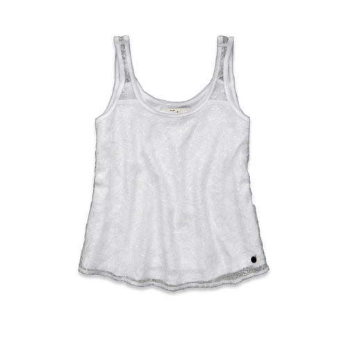 girls natasha shine tank