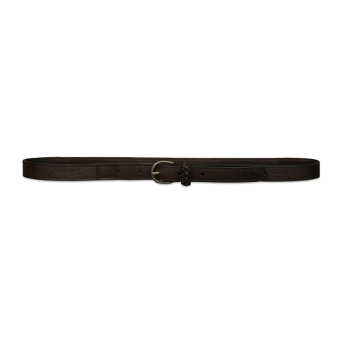 girls skinny leather belt