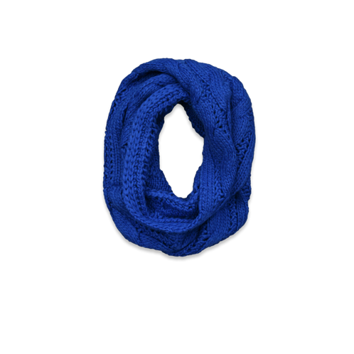 stocking stuffers knit cable eternity scarf
