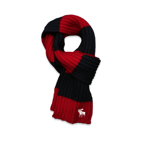 boys knit scarf