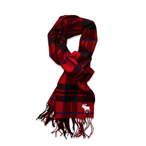 boys classic plaid scarf