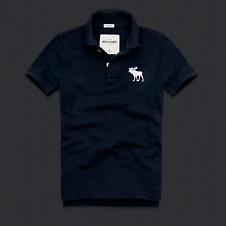 boys bald peak polo