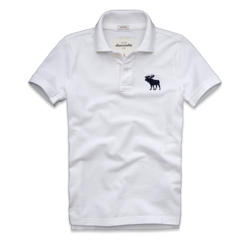 guys bald peak polo