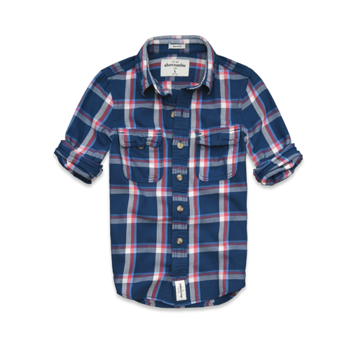 for friends & siblings lake placid twill shirt
