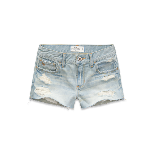 DELETE a&f tech a&f high rise shorts