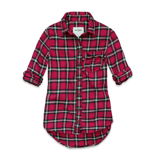 for friends & siblings gemma flannel shirt
