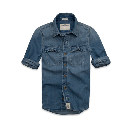 guys mount colvin denim shirt
