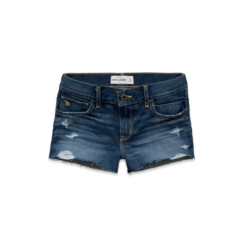 borrowed from the boys a&f high rise shorts
