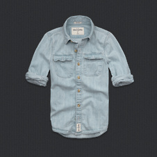 boys indian pass denim shirt