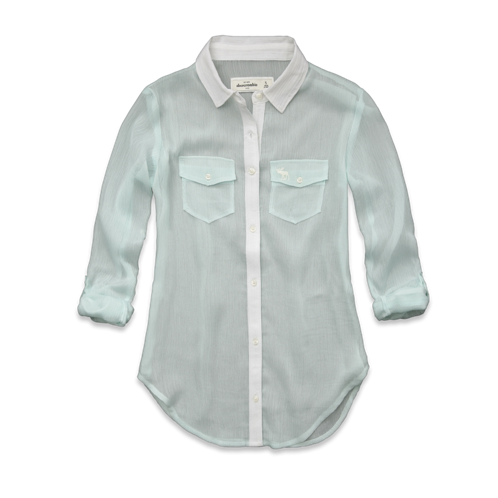 girls cass chiffon shirt