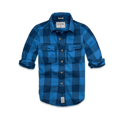 guys beaver point twill shirt
