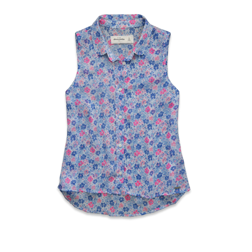 girls alicia chiffon shirt