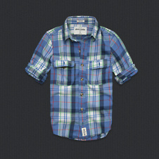 boys lake placid twill shirt