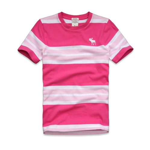STRIPES lewey mountain tee