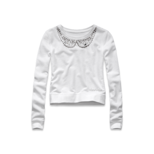 girls parker shine sweatshirt