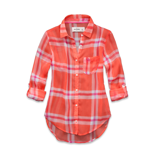 girls monica chiffon shirt