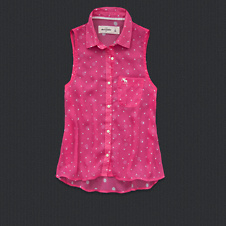 girls carissa chiffon shirt