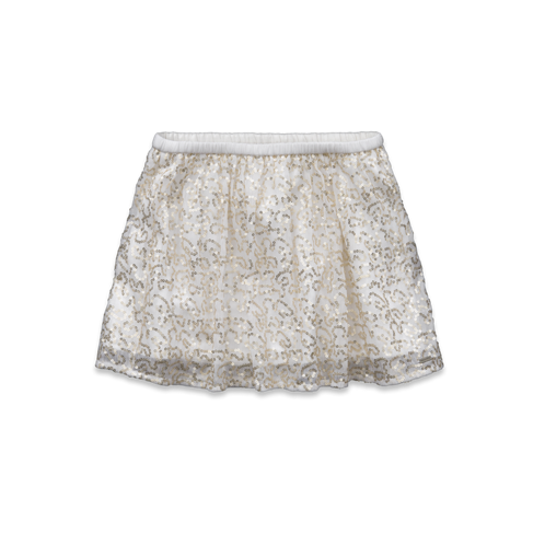 girls abby shine skirt