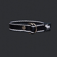 boys preppy striped bracelet
