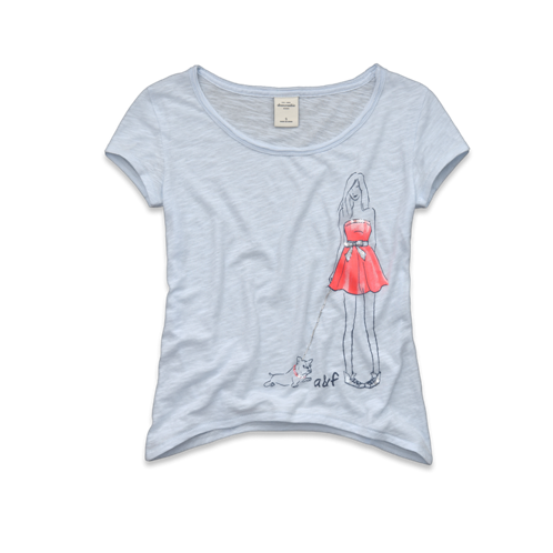 girls eddy embellished tee