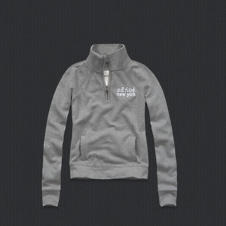 girls addison half-zip