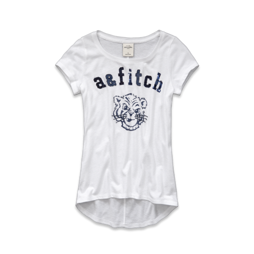 girls parker embellished tee