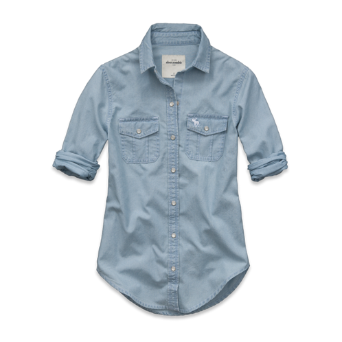 girls haven chambray shirt