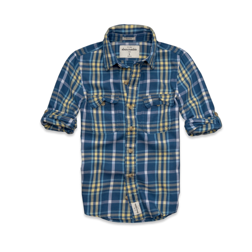 guys colden dam twill shirt