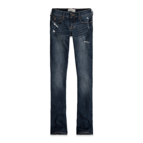 bottoms a&f chase boot jeans
