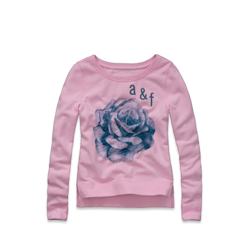 girls chelsea shine sweatshirt