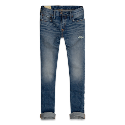 featured items a&f skinny jeans