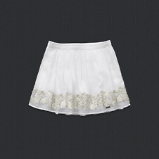 girls tessa shine skirt