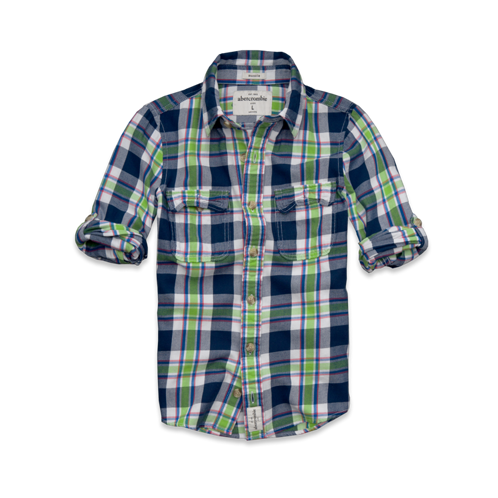 bottoms blake peak twill shirt