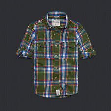 boys blake peak twill shirt