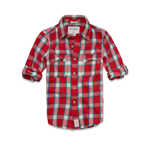 guys blake peak twill shirt