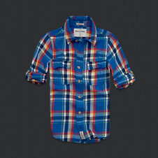 boys boreas mountain twill shirt