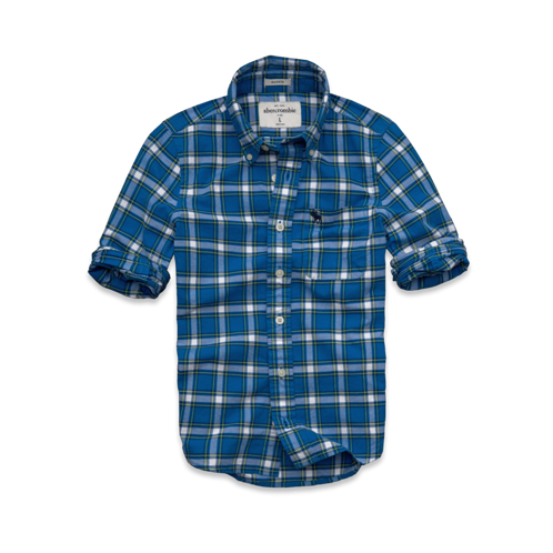 guys adams mountain oxford shirt
