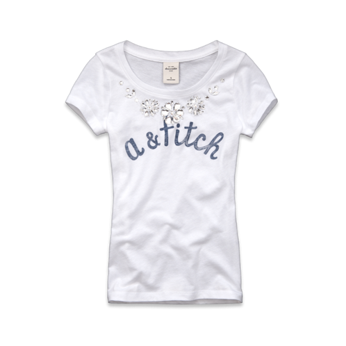 girls beth embellished tee