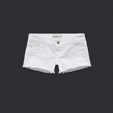 girls a&f low rise short