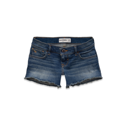 bottoms a&f midi length shorts
